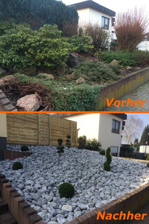 Neugestaltung Vorgarten